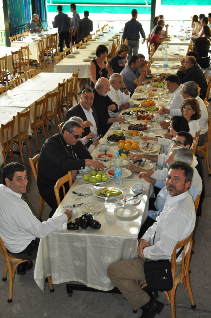 Photo of gathering in Lebanon.